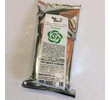 Мастика сахарная ванильная зелёная 100 гр.