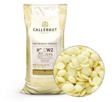 Шоколад белый Callebaut CW2NV-595 100г.