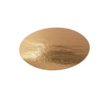 Подложка для торта круглая (золото) d 20 см толщ. 0,9 мм